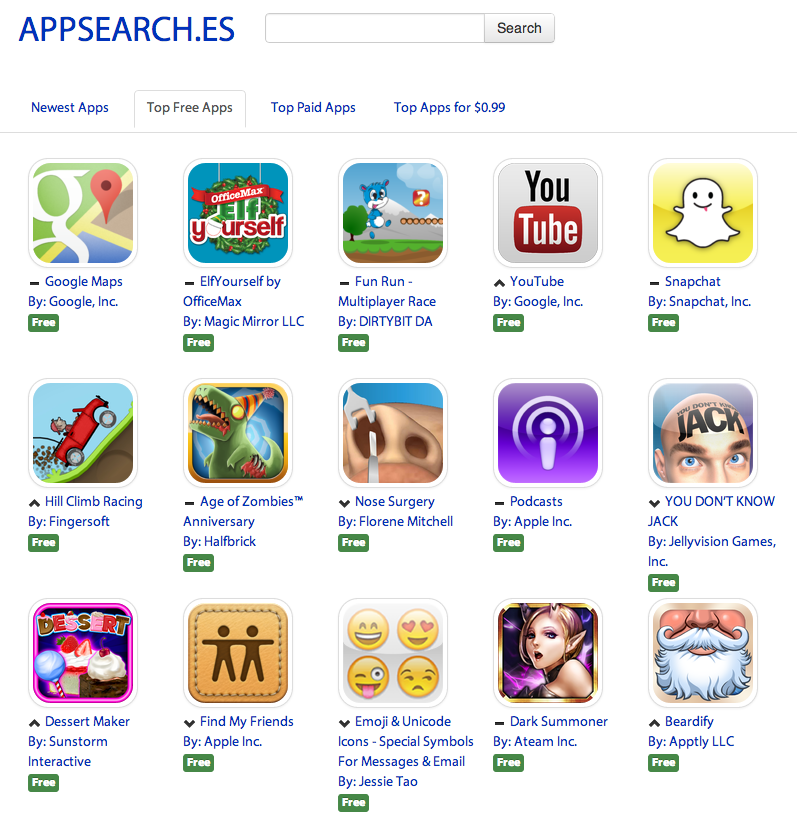Appsearch.es